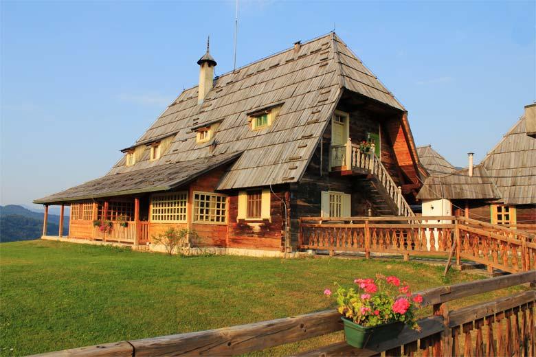 Drvene zgrade u Drvengradu